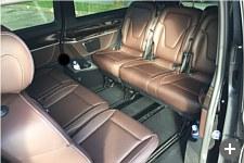 8-seater Van rental