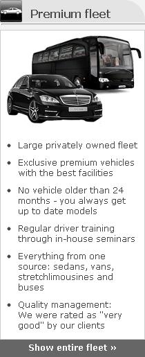 limousine service fleet