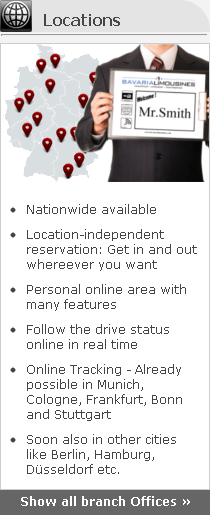 limousine service locations