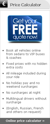 limousine service price calculator