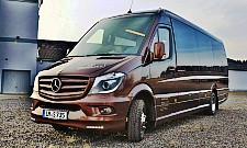 vip minibus luxury sprinter vip van hire in frankfurt. Black Bedroom Furniture Sets. Home Design Ideas