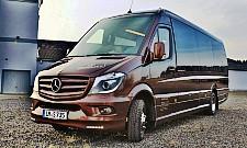 vip minibus luxury sprinter vip van hire in frankfurt. Black Bedroom Furniture Sets. Home Design Ideas