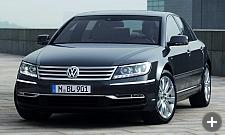 VW Phaeton rental