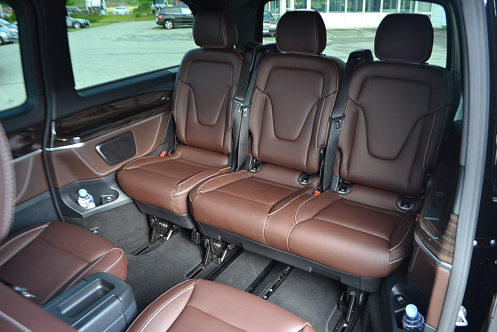 1st Class Mini Van Mercedes Viano 6 seater with Chauffeur