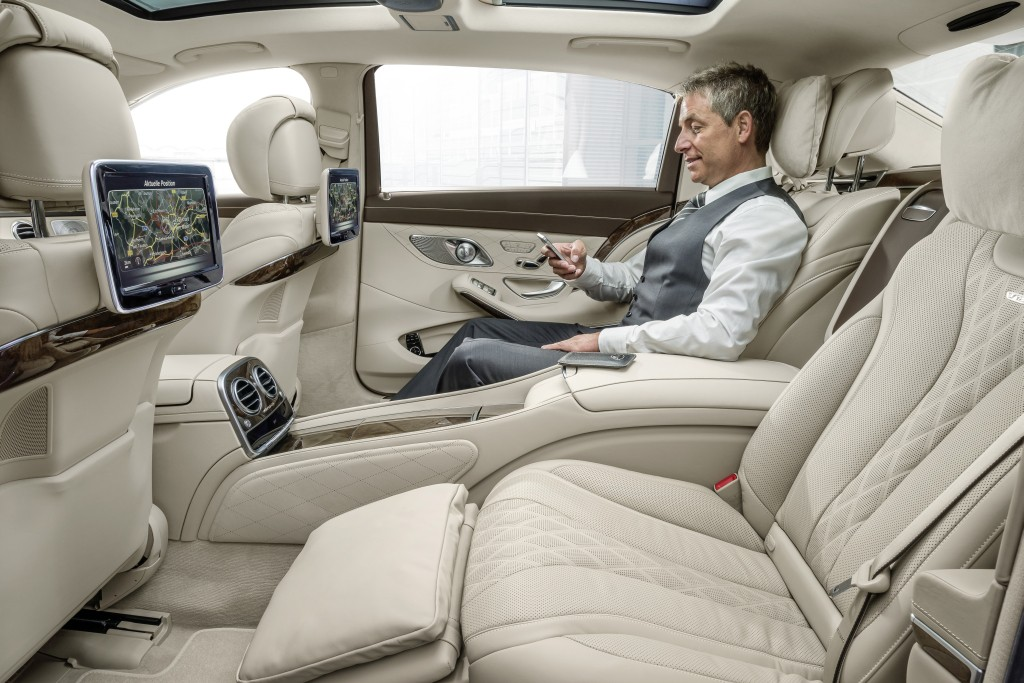 Diamond Class Mercedes Maybach X222 Extra Long Wheel Base With Tv And Internet On Board Munich Germany